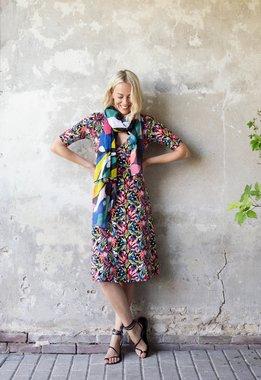 Zilch 11EVI40.075R Dámské šaty 982 mix barev barev