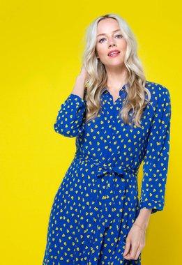 Zilch 11RAC40.219P Dámské šaty 986 modrá