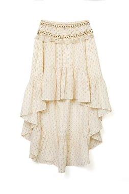 Nekane TAVEL Dámská sukně bílá