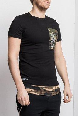 Ryujee TULIO tričko černé