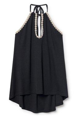 Nekane VANUATU.CL - Negro Dámský top černý