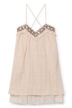 Nekane VICTORIA.AF Cream Dámské šaty béžové