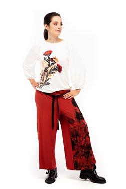 Mamatayoe Wisteria Dámské kalhoty  ONE COLOUR mix barev barev