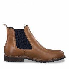 1-1-25056-25 Dámské boty 481 hnědá