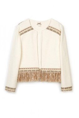 Nekane WOURI.MI Dámský Dámský kabátek bílý